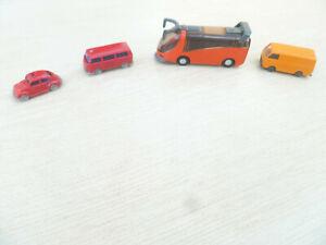 VW Feuerwehr Autos, Bus und Transporter, Wiking, N-Spur