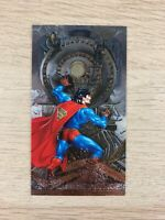 Superman Man Of Steel Platinum Series Spectra-Etch Insert Card Skybox1994 #S1