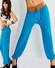 Sexy Miss Femme Pump Ceinture Bund Aladin Hanche Pantalon Sarouel 34/36/38