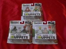 Minimates The Muppets: Fozzie Bear, Scooter, Dr. Bunsen Honeydew, and Beaker Lot