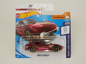 Car Mattel Hot Wheels GHC98 Olympic Games Tokyo 2020 - Toyota 2000 Gt