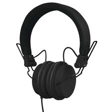 Reloop RHP-6 Black Headset Microphone Foldable By Dj with Bass Deep
