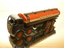 DINKY TOYS 942 FODEN TANKER TRUCK REGENT - BLUE + RED 1:50? - GOOD CONDITION