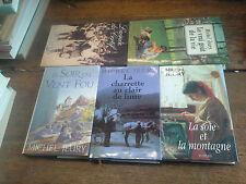 Lot de 5 livres de Michel Jeury le vrai goût de la vie La soie et la montagne