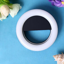 USB Charging Round Shape Portable Selfie LED Ring Flash Light for Phones 1PC