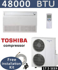 4 TON Ductless Mini Split Air Conditioner, Heat Pump CEILING FLOOR, 48000 BTU