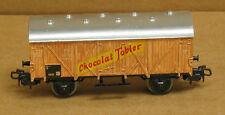 Marklin 4505 HO Closed goods van, lettered Chocolat Tobler