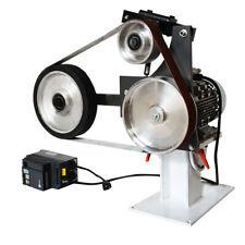 110v Belt Sander Grinder Polisher Vertical Amp Horizontal Usage Adjustable Speed