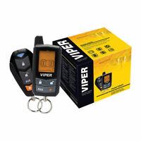 VIPER 5305V 2 WAY CAR SECURITY KEYLESS ENTRY ALARM SYSTEM & REMOTE START SYSTEM
