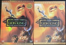The Lion King (DVD 2003 2-Disc Set Platinum Edition) With Slipcover Disney