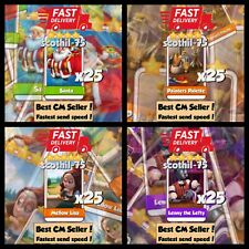 100x Rare Card Bundle D ( Fast Sending ) Coin Master Cards