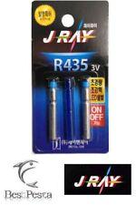 J-RAY - FISHING LED LIGHT STICK pesca R435 - Ø4,0mm - BLU - blister 2pz