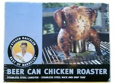 Steven Raichlen Best Of Barbecue Beer-Can Chicken Roaster Rack, Stainless Sr8016