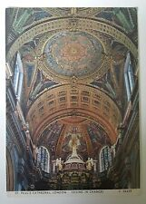 St.Pauls Cathedral London Ceiling in Chancel Judges Limited Hastings Postcard