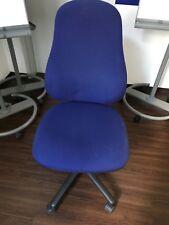 Bürodrehstuhl Schreibtischstuhl Drehstuhl Bürostuhl blau - max. 60 Stück TOP!