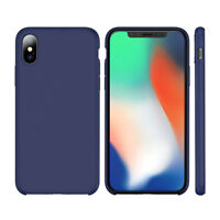 Funda para Apple Iphone X 8 7 6s 6 Plus Original Silicona Rígida Teléfono