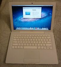 "White Apple MacBook A1181 2.0Ghz 4GB 250GB 144Mb Graphics 13.3"" Laptop NetBook"
