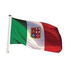 Bandiera Italia Paesi Marina 50x75 cm Nautico In poliestere pesante X vela Vele