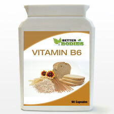 90 Vitamin B6 High strength Potency 122mg  Capsules reduces tiredness fatigue