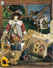 1996 Pattern Booklet Blooming Creations Book 8 Julie Knudsen Dolls Quilt #50