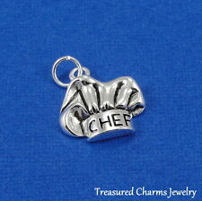 Silver CHEF HAT CHARM Baker Baking Culinary School PENDANT