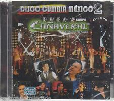 CD + DVD Grupo Canaveral CD NEW Disco Cumbia Mexico Pt 2 Nuevo Estreno SEALED