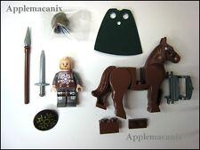 NEW LEGO Lord of the Rings LOTR 9471 Urak Uruk-Hai Army Eomer Minifigure w/Horse