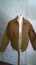 ABERCROMBIE Boys large Harrington style bomber jacket sand brown VGC