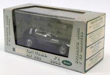 Voitures de courses miniatures Brumm en métal blanc