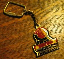 Jf Tours Keychain - Vintage Sri Lanka Railroad Train Engine Viceroy Souvenir