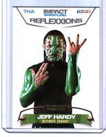 TNA Jeff Hardy #71 2012 Reflexxions GOLD Parallel Card SN 4 of 10