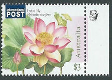 2017 $3.00 'Lotus Lily Water Plant' IP 1 Koala Reprint Right Selve Edge Stamp