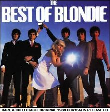 Blondie Very Best Greatest Hits Collection 70's 80's New Wave CD (Debbie Harry)