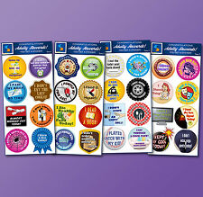 32 Adult Reward Stickers - Series 1 thru 4 You Adulted Today! Great Gift Idea
