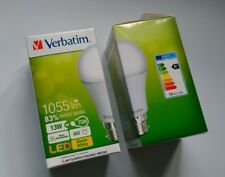 4 X Verbatim LED Classic A B22 13W (non dimmable) 3000K WW