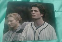 ROBERT PATTINSON SIGNED 8X10 PHOTO TWILIGHT EDWARD JERSEY W/COA+PROOF RARE WOW