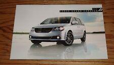 Original 2014 Dodge Grand Caravan Deluxe Sales Brochure 14