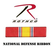 Military Issue National Defense Ribbon Army Navy Air Force Marines Rothco 70005