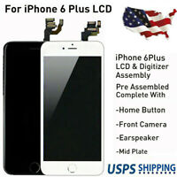 """5.5"""" For iPhone 6 Plus LCD Screen Digitizer Replacement Assembly W/ Home Button"""