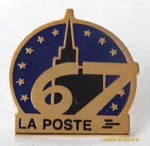 Ancien PIN'S : LA POSTE 67 - Département BAS-RHIN