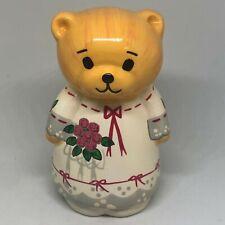 "Vintage 1979 Lucy & And Me Porcelain Teddy Bear Figurine Enesco 4"""