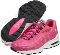NEW NIKE AIR MAX '95 LE (GS) DESERT PINK/WHITE-BLACK KIDS SIZE 5.5Y (310830 600)