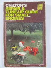 CHILTON'S REPAIR & TUNE-UP GUIDE FOR SMALL ENGINES # 6811 2nd Edition