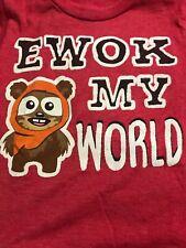 Toddler Boy Size 2T Star Wars Ewok Shirt