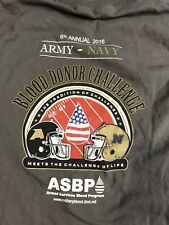 Army Navy 2016 NCAA Football Blood Donor Challenge Long Sleeve T-Shirt ADULT S