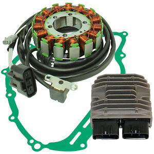 Stator & Regulator for Yamaha Grizzly 700 YFM700Fg 4WD Fi Eps 2007-15 W/Gasket