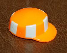Playmobil accessoire chapeau casquette orange ouvrier 3745 3780 7655 6102 ref jj
