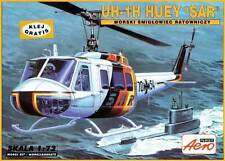 BELL UH 1 H HUEY (LUFTWAFFE SAR SPECIAL MARKINGS) 1/72 AEROPLAST RARE