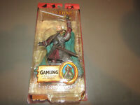 Lord of the Rings Two Towers Gamling in Rohan Armor 2004 Toybiz Action Figure