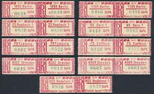DDR SbPÄ 1 A x Z, Lot mit 9 verschiedenen Paaren, tadellos postfrisch, Mi. 180,-